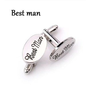 Best Man Bridal Party Cuff Links